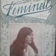 Coleccionismo de Revistas y Periódicos: REVISTA FEMINAL Nº81 1913. Lote 190357253