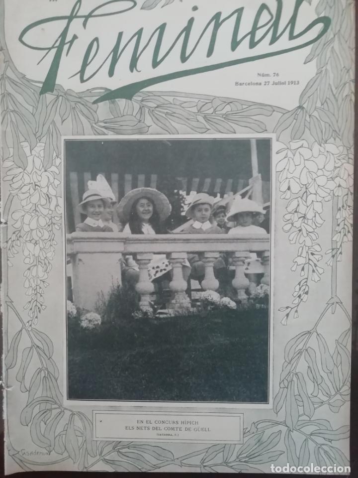 REVISTA FEMINAL Nº76 1913 (Coleccionismo - Revistas y Periódicos Antiguos (hasta 1.939))