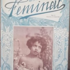 Coleccionismo de Revistas y Periódicos: REVISTA FEMINAL Nº71 1913. Lote 190357438