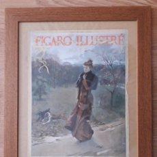 Coleccionismo de Revistas y Periódicos: PORTADA ORIGINAL FIGARO ILLUSTRÉ 1893 - ENMARCADA. Lote 190418102