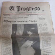 Coleccionismo de Revistas y Periódicos: 1983 17 AGOSTO EL PROGRESO LUGO CUMPLE 25 AÑOS. TORRE MORENOS RIBADEO..MEIGAS TRASGOS. LUGO .USA. Lote 190467915