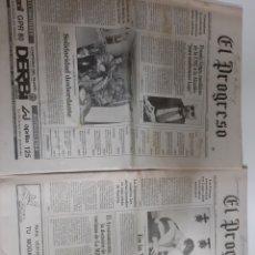 Coleccionismo de Revistas y Periódicos: PROGRESO LUGO AÑO 1991 DOS 23 ABRIL Y 24 ABRIL. Lote 190519248
