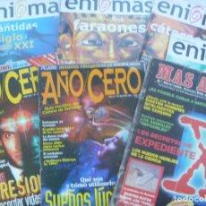 Coleccionismo de Revistas y Periódicos: LOTE DE 7 REVISTAS ESOTERICAS: ENIGMAS, MAS ALLA Y AÑO CERO. DE LOS AÑOS 90, 1996, 2005, 06 Y 2009. Lote 190621550