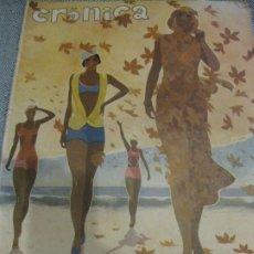 Coleccionismo de Revistas y Periódicos: PERIODICO CRONICA EXTRA DE OTOÑO 1934 DESNUDOS FEMENINOS OTOÑO MADRID BARCELONA . Lote 190701315