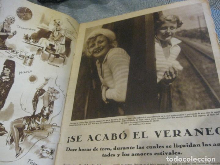 Coleccionismo de Revistas y Periódicos: periodico cronica extra de otoño 1934 desnudos femeninos otoño madrid barcelona - Foto 2 - 190701315
