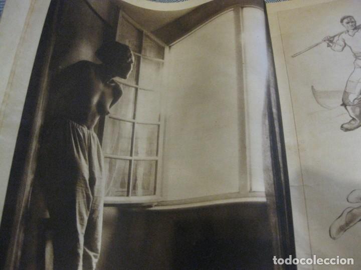 Coleccionismo de Revistas y Periódicos: periodico cronica extra de otoño 1934 desnudos femeninos otoño madrid barcelona - Foto 4 - 190701315