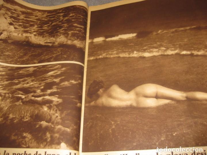 Coleccionismo de Revistas y Periódicos: periodico cronica extra de otoño 1934 desnudos femeninos otoño madrid barcelona - Foto 5 - 190701315