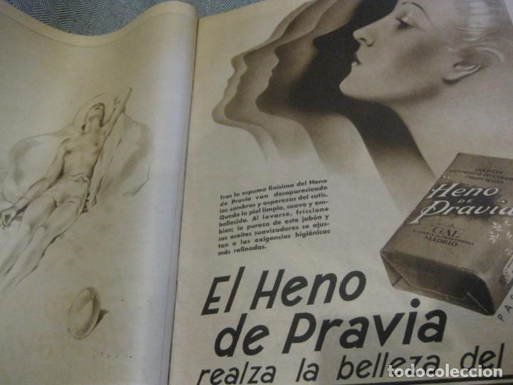 Coleccionismo de Revistas y Periódicos: periodico cronica extra de otoño 1934 desnudos femeninos otoño madrid barcelona - Foto 6 - 190701315