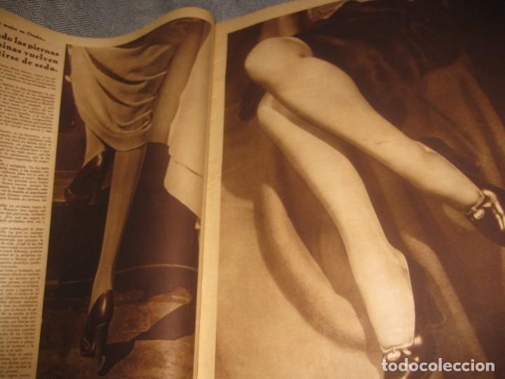 Coleccionismo de Revistas y Periódicos: periodico cronica extra de otoño 1934 desnudos femeninos otoño madrid barcelona - Foto 7 - 190701315
