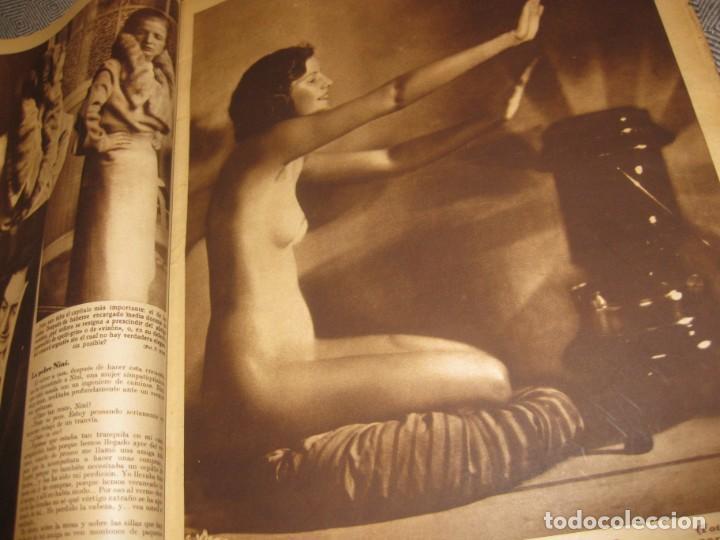 Coleccionismo de Revistas y Periódicos: periodico cronica extra de otoño 1934 desnudos femeninos otoño madrid barcelona - Foto 8 - 190701315