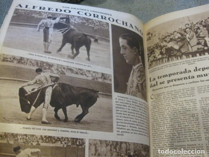 Coleccionismo de Revistas y Periódicos: periodico cronica extra de otoño 1934 desnudos femeninos otoño madrid barcelona - Foto 15 - 190701315