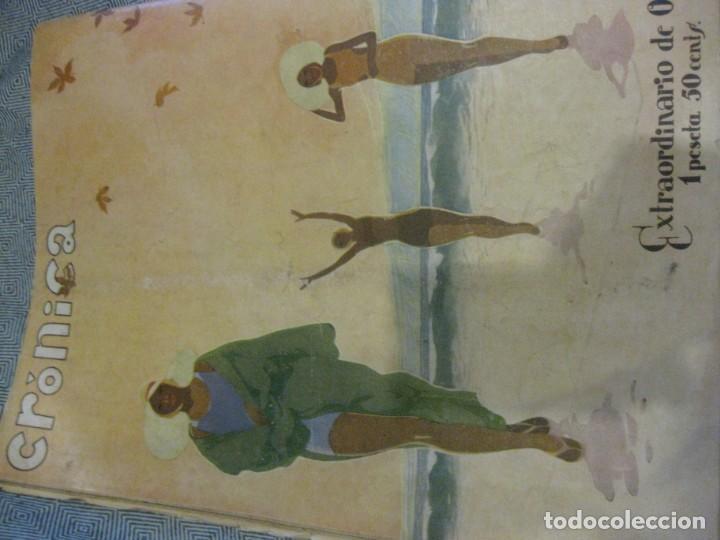 Coleccionismo de Revistas y Periódicos: periodico cronica extra de otoño 1934 desnudos femeninos otoño madrid barcelona - Foto 16 - 190701315