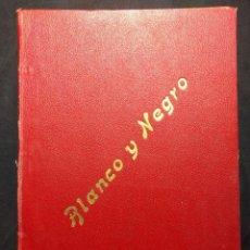 Coleccionismo de Revistas y Periódicos: 1 TOMO, BLANCO Y NEGRO 1902. PRIMERA MITAD DEL AÑO DE ENERO A JUNIO. 1 SEMESTRE.. Lote 190707955
