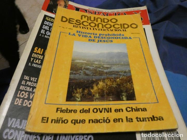 REVISTA MUNDO DESCONOCIDO NUMERO 73 (Coleccionismo - Revistas y Periódicos Modernos (a partir de 1.940) - Otros)