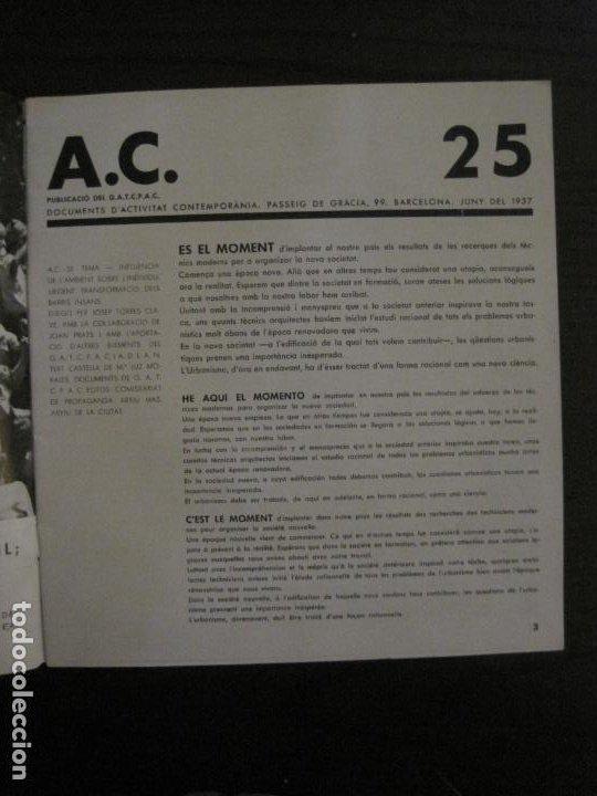 Coleccionismo de Revistas y Periódicos: GUERRA CIVIL-A.C. 25-JUNY 1937-SEGELL ANTIFEIXISTA JOAN MIRO-VER FOTOS-(V-18.755) - Foto 5 - 190770922