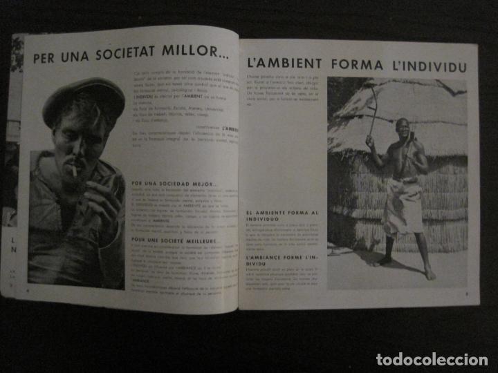 Coleccionismo de Revistas y Periódicos: GUERRA CIVIL-A.C. 25-JUNY 1937-SEGELL ANTIFEIXISTA JOAN MIRO-VER FOTOS-(V-18.755) - Foto 6 - 190770922
