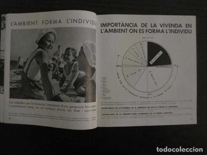 Coleccionismo de Revistas y Periódicos: GUERRA CIVIL-A.C. 25-JUNY 1937-SEGELL ANTIFEIXISTA JOAN MIRO-VER FOTOS-(V-18.755) - Foto 9 - 190770922