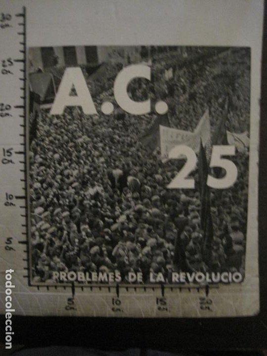 Coleccionismo de Revistas y Periódicos: GUERRA CIVIL-A.C. 25-JUNY 1937-SEGELL ANTIFEIXISTA JOAN MIRO-VER FOTOS-(V-18.755) - Foto 27 - 190770922