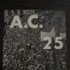 Coleccionismo de Revistas y Periódicos: GUERRA CIVIL-A.C. 25-JUNY 1937-SEGELL ANTIFEIXISTA JOAN MIRO-VER FOTOS-(V-18.755). Lote 190770922