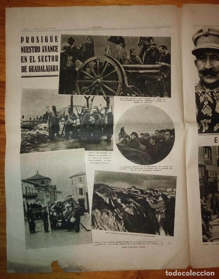 Coleccionismo de Revistas y Periódicos: La Vanguardia 1937. Guerra civil española. Guadalajara. Yela. Belchite. Lecera. - Foto 4 - 147543406
