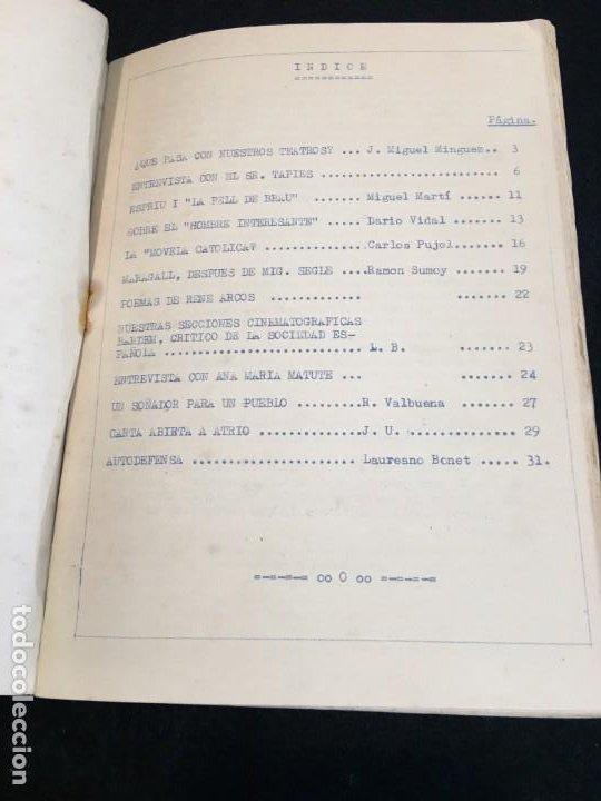 Coleccionismo de Revistas y Periódicos: Revista Atrio nº 2. Filosofía y Letras. Barcelona, Abril 1960. - Foto 4 - 190839355