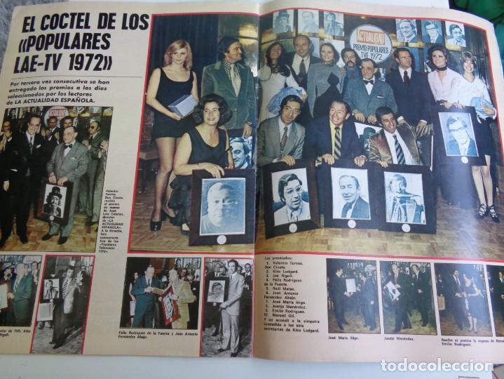 Coleccionismo de Revistas y Periódicos: LA ACTUALIDAD ESPAÑOLA 1973 - POPULARES TV 1972 - UN, DOS, TRES - FELIX RODRIGUEZ DE LA FUENTE ... - Foto 2 - 190895227