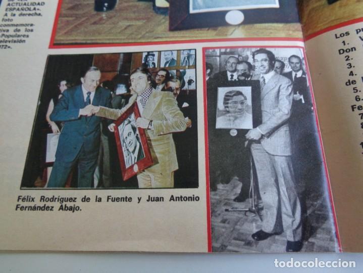 Coleccionismo de Revistas y Periódicos: LA ACTUALIDAD ESPAÑOLA 1973 - POPULARES TV 1972 - UN, DOS, TRES - FELIX RODRIGUEZ DE LA FUENTE ... - Foto 3 - 190895227