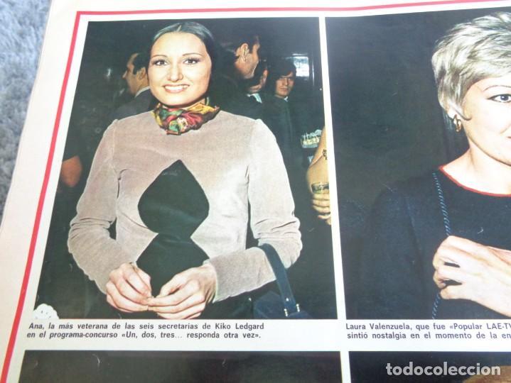Coleccionismo de Revistas y Periódicos: LA ACTUALIDAD ESPAÑOLA 1973 - POPULARES TV 1972 - UN, DOS, TRES - FELIX RODRIGUEZ DE LA FUENTE ... - Foto 7 - 190895227