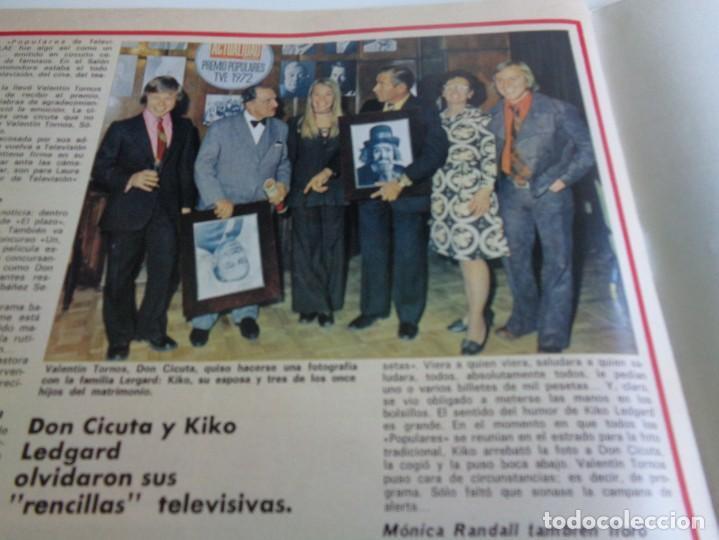 Coleccionismo de Revistas y Periódicos: LA ACTUALIDAD ESPAÑOLA 1973 - POPULARES TV 1972 - UN, DOS, TRES - FELIX RODRIGUEZ DE LA FUENTE ... - Foto 9 - 190895227