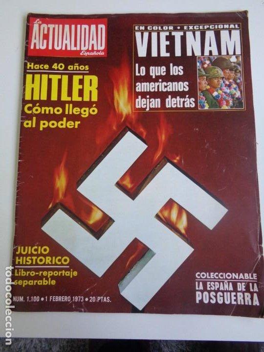 LA ACTUALIDAD ESPAÑOLA 1973 - POPULARES TV 1972 - UN, DOS, TRES - FELIX RODRIGUEZ DE LA FUENTE ... (Coleccionismo - Revistas y Periódicos Modernos (a partir de 1.940) - Otros)