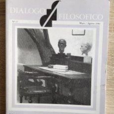 Coleccionismo de Revistas y Periódicos: DIALOGO FILOSÓFICO. NUM. 17, MAYO / AGOSTO 1990. Lote 190896827