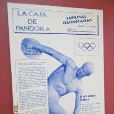 Coleccionismo de Revistas y Periódicos: LA CAJA DE PANDORA REVISTA COMUNIDAD EDUCATIVA COLEGIO SAGRADO CORAZON ESCLAVAS -JUNIO 2008. Lote 190923215
