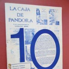Coleccionismo de Revistas y Periódicos: LA CAJA DE PANDORA REVISTA COMUNIDAD EDUCATIVA COLEGIO SAGRADO CORAZON ESCLAVAS -VERANO 2004. Lote 190924038