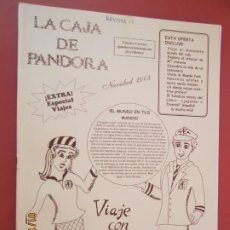 Coleccionismo de Revistas y Periódicos: LA CAJA DE PANDORA REVISTA COMUNIDAD EDUCATIVA COLEGIO SAGRADO CORAZON ESCLAVAS -NAVIDAD 2003. Lote 190924216