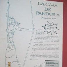 Coleccionismo de Revistas y Periódicos: LA CAJA DE PANDORA REVISTA COMUNIDAD EDUCATIVA COLEGIO SAGRADO CORAZON ESCLAVAS PRIMAVERA 2001. Lote 190924846