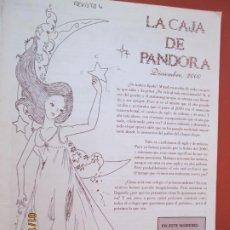 Coleccionismo de Revistas y Periódicos: LA CAJA DE PANDORA REVISTA COMUNIDAD EDUCATIVA COLEGIO SAGRADO CORAZON ESCLAVAS DICIEMBRE 2000. Lote 190924930