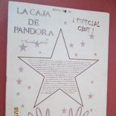 Coleccionismo de Revistas y Periódicos: LA CAJA DE PANDORA REVISTA COMUNIDAD EDUCATIVA COLEGIO SAGRADO CORAZON ESCLAVAS - NAVIDAD 2002 . Lote 190925350