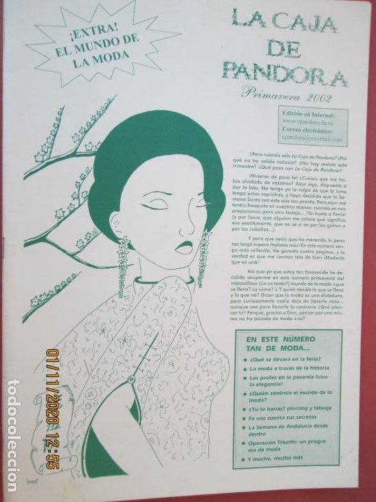 LA CAJA DE PANDORA REVISTA COMUNIDAD EDUCATIVA COLEGIO SAGRADO CORAZON ESCLAVAS - PRIMAVERA 2002 (Coleccionismo - Revistas y Periódicos Modernos (a partir de 1.940) - Otros)