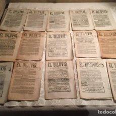 Coleccionismo de Revistas y Periódicos: ANTIGUO PERIODICO DE MAÑANA Y TARDE EL DILUVIO DIARIO DE AVISOS NOTICIAS Y DECRETOS AÑO 1882. Lote 190991213
