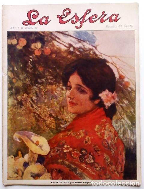 LA ESFERA. ILUSTRACIÓN MUNDIAL. 25 DE ABRIL DE 1914, N.º 17. ORIGNAL DE ÉPOCA. (Coleccionismo - Revistas y Periódicos Antiguos (hasta 1.939))
