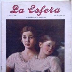 Coleccionismo de Revistas y Periódicos: LA ESFERA. ILUSTRACIÓN MUNDIAL. 3 DE FEBRERO DE 1917, N.º 162. ORIGNAL DE ÉPOCA.. Lote 191008310