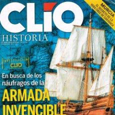 Coleccionismo de Revistas y Periódicos: CLIO Nº 88, EN BUSCA DE LOS NAUFRAGOS DE LA ARMADA INVENCIBLE. Lote 191031346