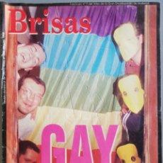 Coleccionismo de Revistas y Periódicos: BRISAS - 28 JUNIO 1998 - ORGULLO GAY ////// ANTONI-O SOCIAS, PINTOR.. Lote 191035227