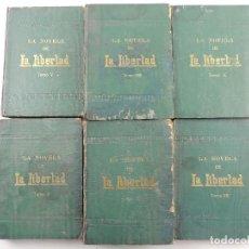Coleccionismo de Revistas y Periódicos: COLECCION DE LA NOVELA DE LA LIBERTAD EN 6 TOMOS. Lote 191082925