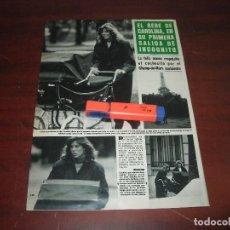 Coleccionismo de Revistas y Periódicos: CAROLINA MONACO STEFANO CASIRAGHI- RECORTE 5 PAG . -REVISTA HOLA AÑO 1984. Lote 191170946