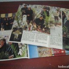 Coleccionismo de Revistas y Periódicos: ISABEL PANTOJA VISITA TUMBA DE PAQUIRRI- RECORTE- VER FOTOS DETALLES . -REVISTA HOLA AÑO 1984. Lote 191171907