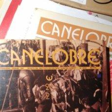 Coleccionismo de Revistas y Periódicos: ALICANTINOS EN EL EXILIO REVISTA CANELOBRE. Lote 191176141