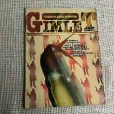 Coleccionismo de Revistas y Periódicos: GIMLET Nº 7 REVISTA POLICÍACA Y DE MISTERIO. Lote 191209517