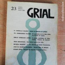 Coleccionismo de Revistas y Periódicos: GRIAL N° 23. 1969. Lote 191231672