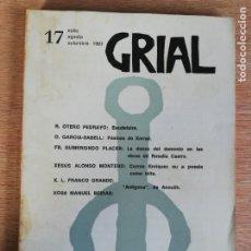 Coleccionismo de Revistas y Periódicos: GRIAL N° 17. 1967. Lote 191231723